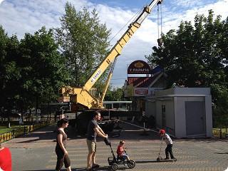 Аренда кранов в Москве